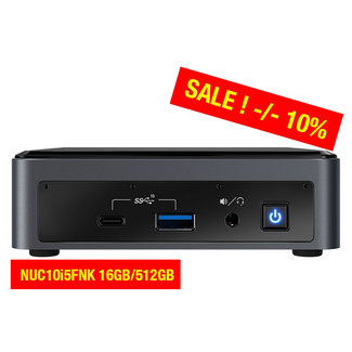 Intel NUC10i5FNK 16GB/512GB
