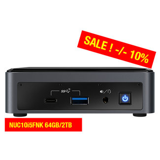 Intel NUC10i5FNK 64GB/2TB