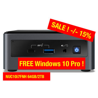 Intel NUC10i7FNH 64GB/2TB