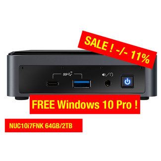 Intel NUC10i7FNK 64GB/2TB