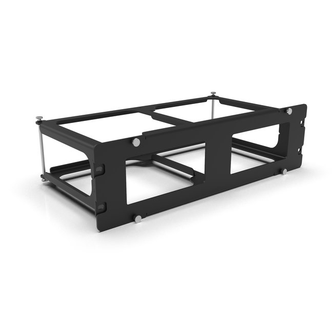 19-inch rack mount 3U for 1 or 2x NUC9 Ghost Canyon and NUC9 Quartz Canyon