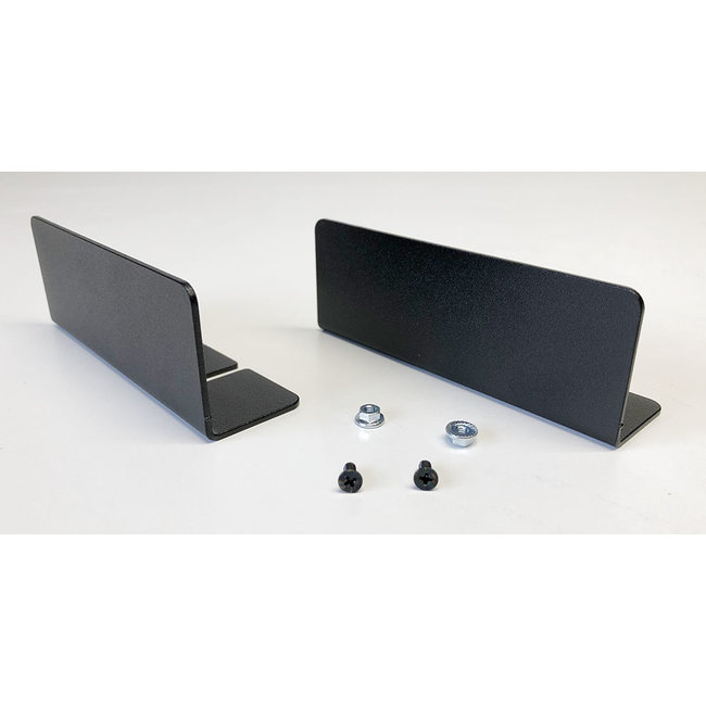 set of 2x blank cover for NUC 1U or 1,5U 19inch RackMount