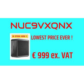 Intel NUC 9 Pro Kit NUC9VXQNX Quartz Canyon  AANBIEDING