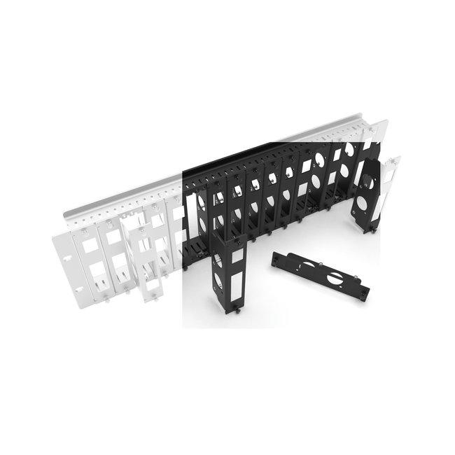 Extra bracket Raspberry Pi for 3U rack mount 12-16x RB Pi FRONT REMOVABLE