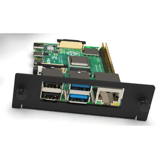 2 Raspberry Pi trays for Front-removable Raspberry Pi rack mount 1-5