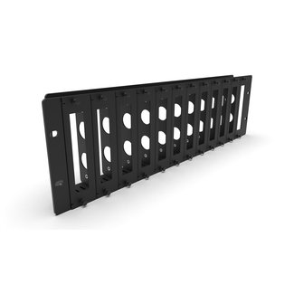 19 inch rack mount 3U for 12x Jetson - FRONT REMOVABLE