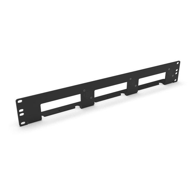 19  inch 1.5U RackMount kit voor 1-3 NUC's (Intel NUC MiniPC)