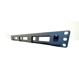 19 inch rack mount 1U voor 1-3 stuks RASPBERRY Pi / low NUC