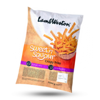 LambWeston Sweet Potato Fries, 2.5 kg, Lambweston