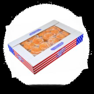 Real American Hamburgerbroodjes 55g, 48x, Real American