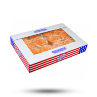 Real American Hamburgerbroodjes 80g, 30x, Real American