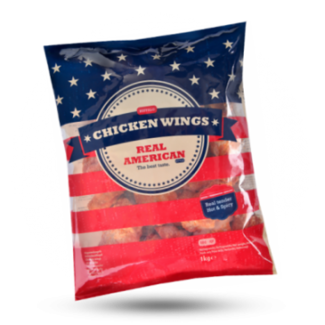 Real American Chicken Wings Buffalo, Real American
