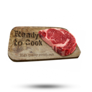 Ready to Cook Rib Eye 175g, 10x175 gr, Ready To Cook