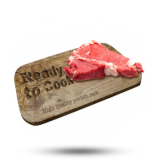 Ready to Cook T-Bone 400g, 4x400 gr, Ready To Cook