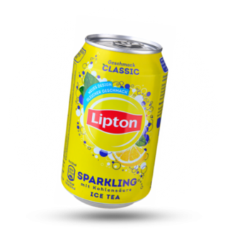 Lipton Ice tea Sparkling, 6x330 ml, Lipton