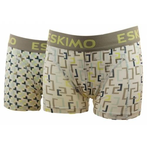 Eskimo Eskimo 2-pack short Square