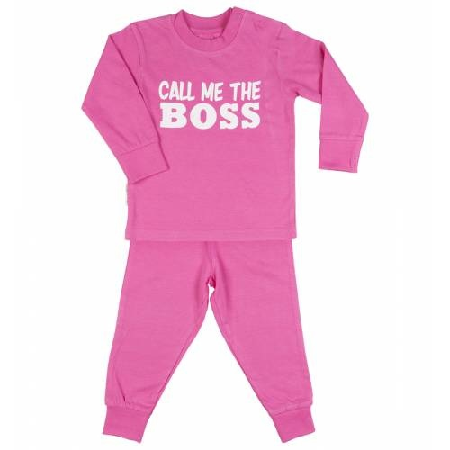 Frogs and Dogs tricot baby pyjama The boss