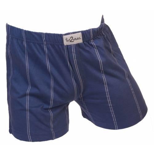 Funderwear ondergoed Funderwear / Fun2wear wijde heren boxershort krijtstreep