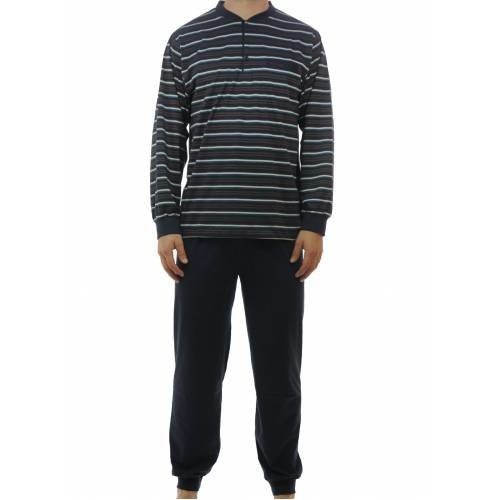 Gentlemen Gentlemen tricot pyjama Porto Stripe 4145