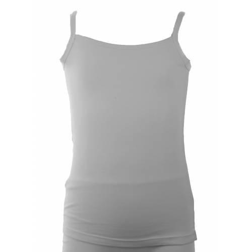 Lunatex Lunatex meisjes hemd elast. katoen uni
