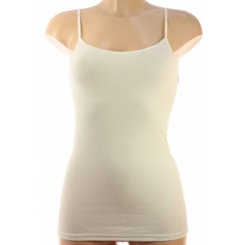Scholler ondergoed Scholler hemd smal bandje modal
