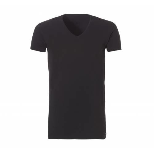 Ten Cate ondergoed Ten Cate heren Bamboe T-shirt V-hals