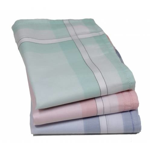 Tiseco Dames zakdoeken big Stripe 12 St