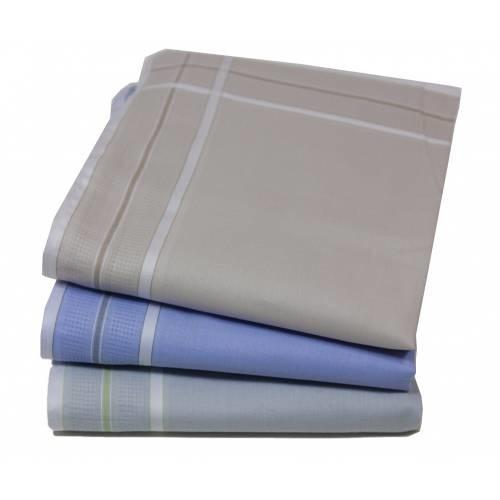 Tiseco dames zakdoeken Ines Design 35x35 cm, 12 St