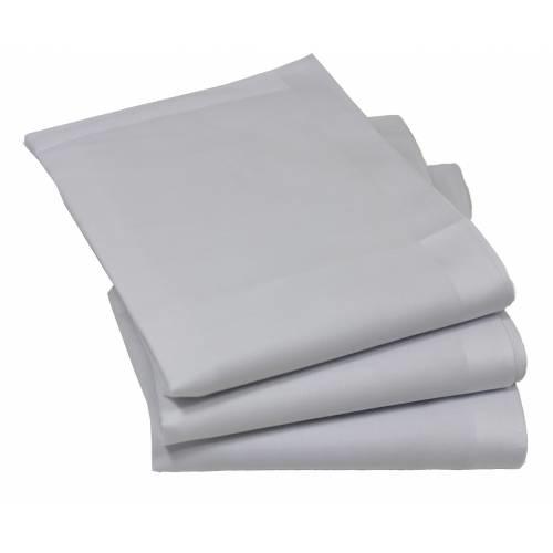 Tiseco Dames zakdoeken Luxe wit 12 St
