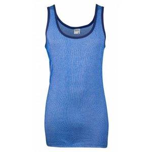 Beeren ondergoed Beeren heren hemd blauwe streep, M2000