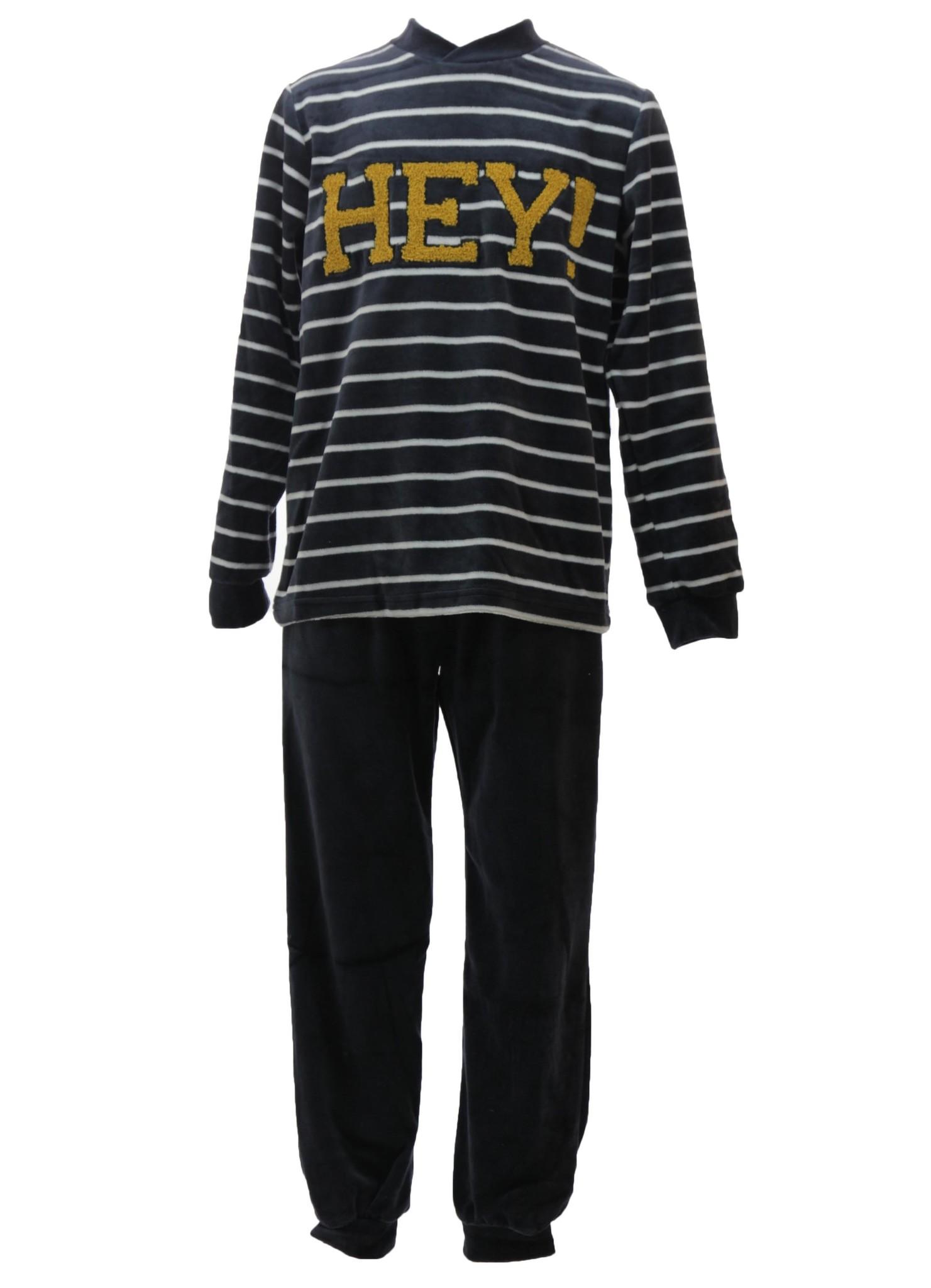 Lunatex velours peuter / jongens peuter pyjama Hey!
