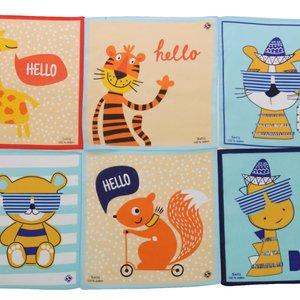 Sofil kinderzakdoeken Animal  12 stuks