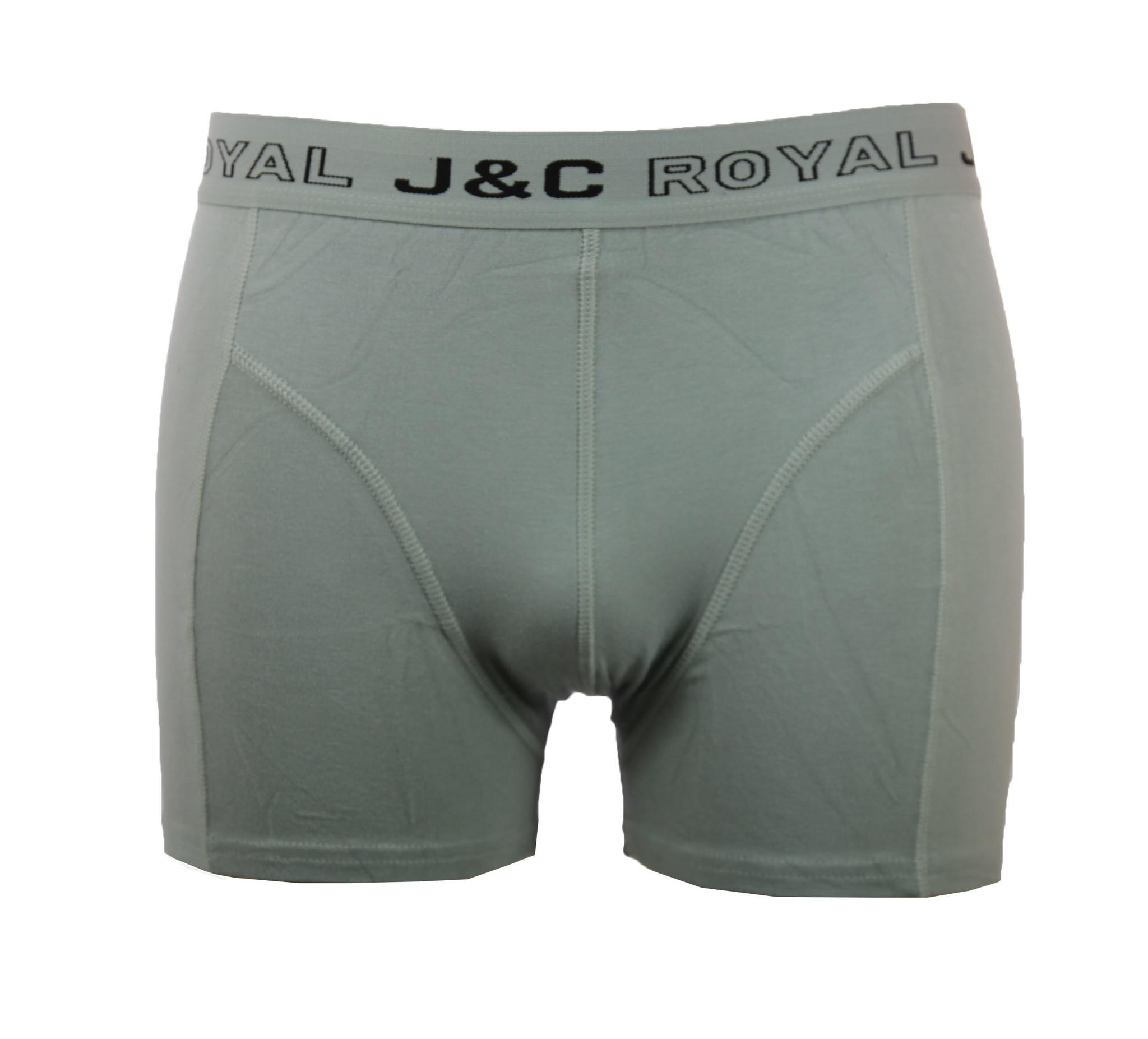 J&C Heren boxershort Royal uni 152
