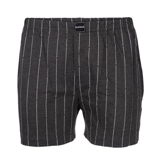 Gino-santi Suaque/Ginosanti heren short  wijd model Stripe
