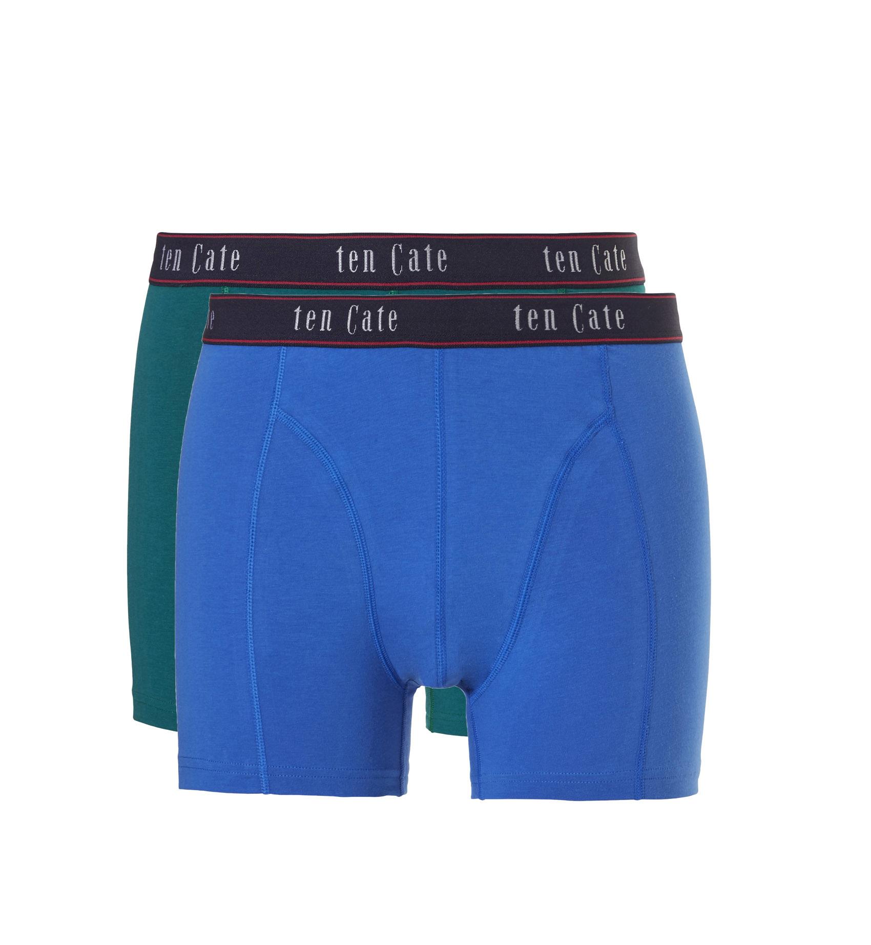 Ten Cate Fine Heren boxershort Green 2-Pack