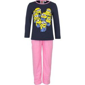 Disney Despicable me meisjes pyjama minions Zwart