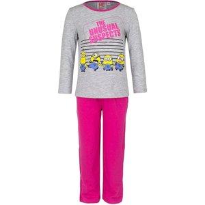 Disney Despicable me meisjes pyjama minions Grijs
