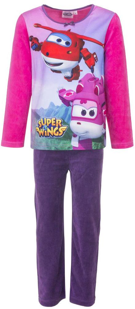 Disney meisjes velours pyjama Super Wings Roze 2134