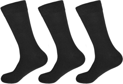 Gianvaglia heren sokken zwart 3-pack