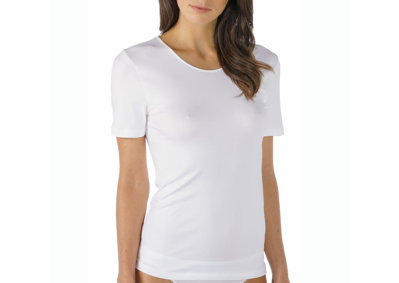 Mey Emotion dames T-shirt - 56201 - Wit