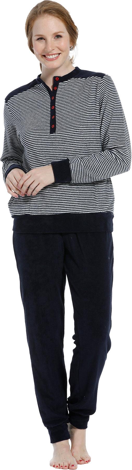 Pastunette badstof dames pyjama NOS