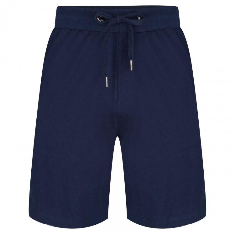 Pastunette heren korte pyjamabroek Justin - Donkerblauw