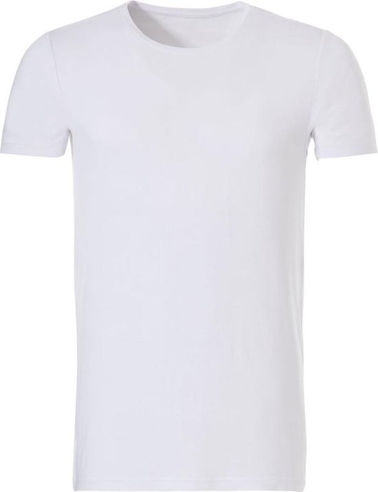 Twentini heren T-shirt k/m wit