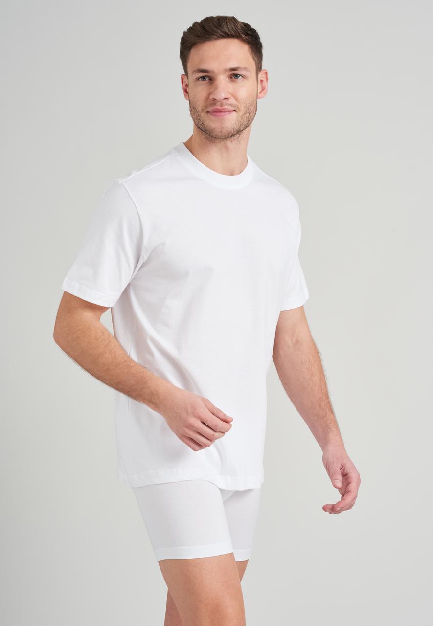 Schiesser heren American T-Shirt 2-pack
