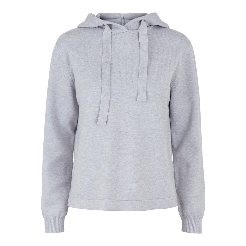 Pieces Lounge shirt / Hoodie - Grey Melange
