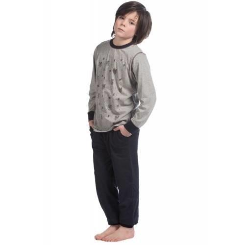 Eskimo Eskimo jongens tricot pyjama Wild