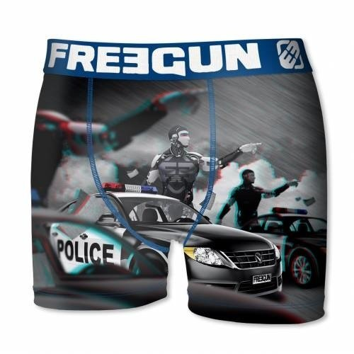 Freegun heren boxershort 3D Cops