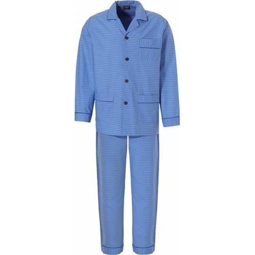 Robson Robson Heren pyjama satijn knoopsluiting 713-6