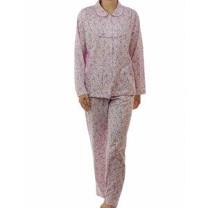 Lunatex Lunatex tricot pyjama doorknoop 4097