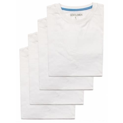 Gentlemen Gentlemen T-shirt 4-pak ronde hals